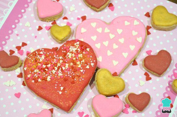 Receta De Galletas De Corazón Para San Valentín Decoradas